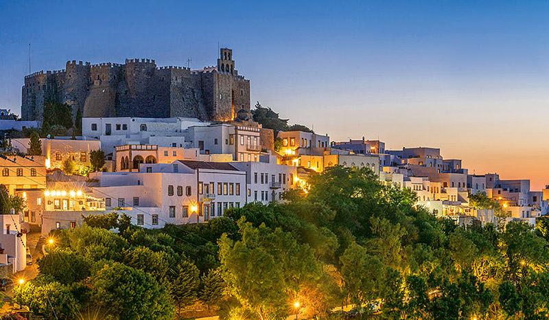 The Revelation monastery in Patmos